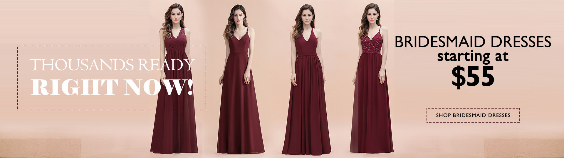 bridesmaid dresses ready to ship