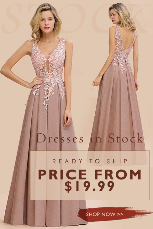 ready to ship prom dress